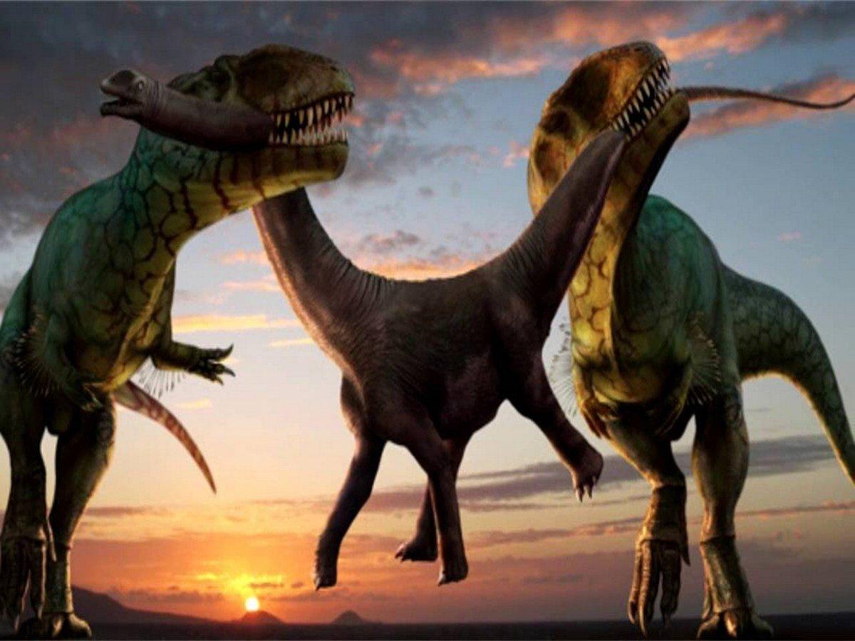 Ученые выяснили, зачем динозаврам были нужны  длинные ноги