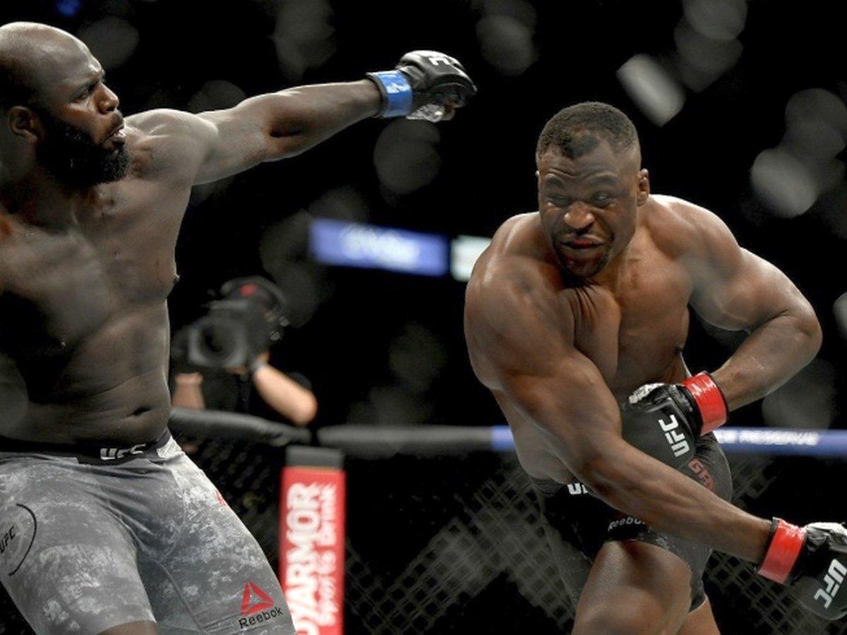Нганну вырубил соперника первым же ударом