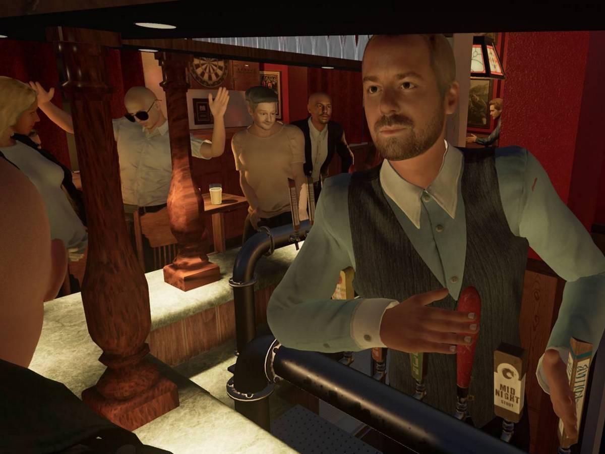 Журналист воссоздал в виртуальной реальности любимый бар