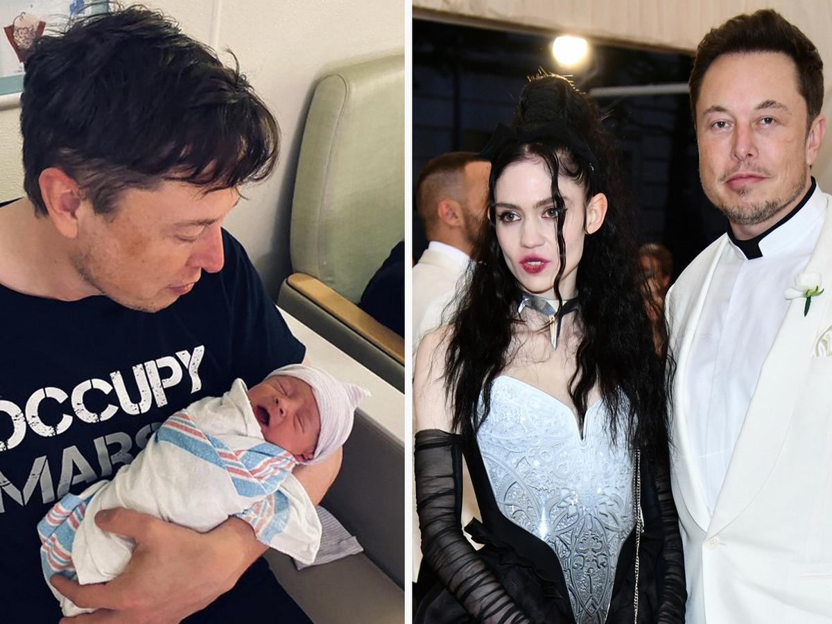 В сети появилось трогательное видео Илона Маска с новорожденным