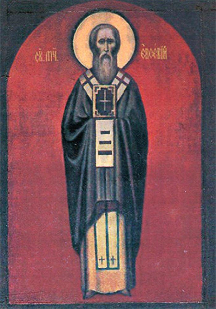 Святой Евсей 7 мая