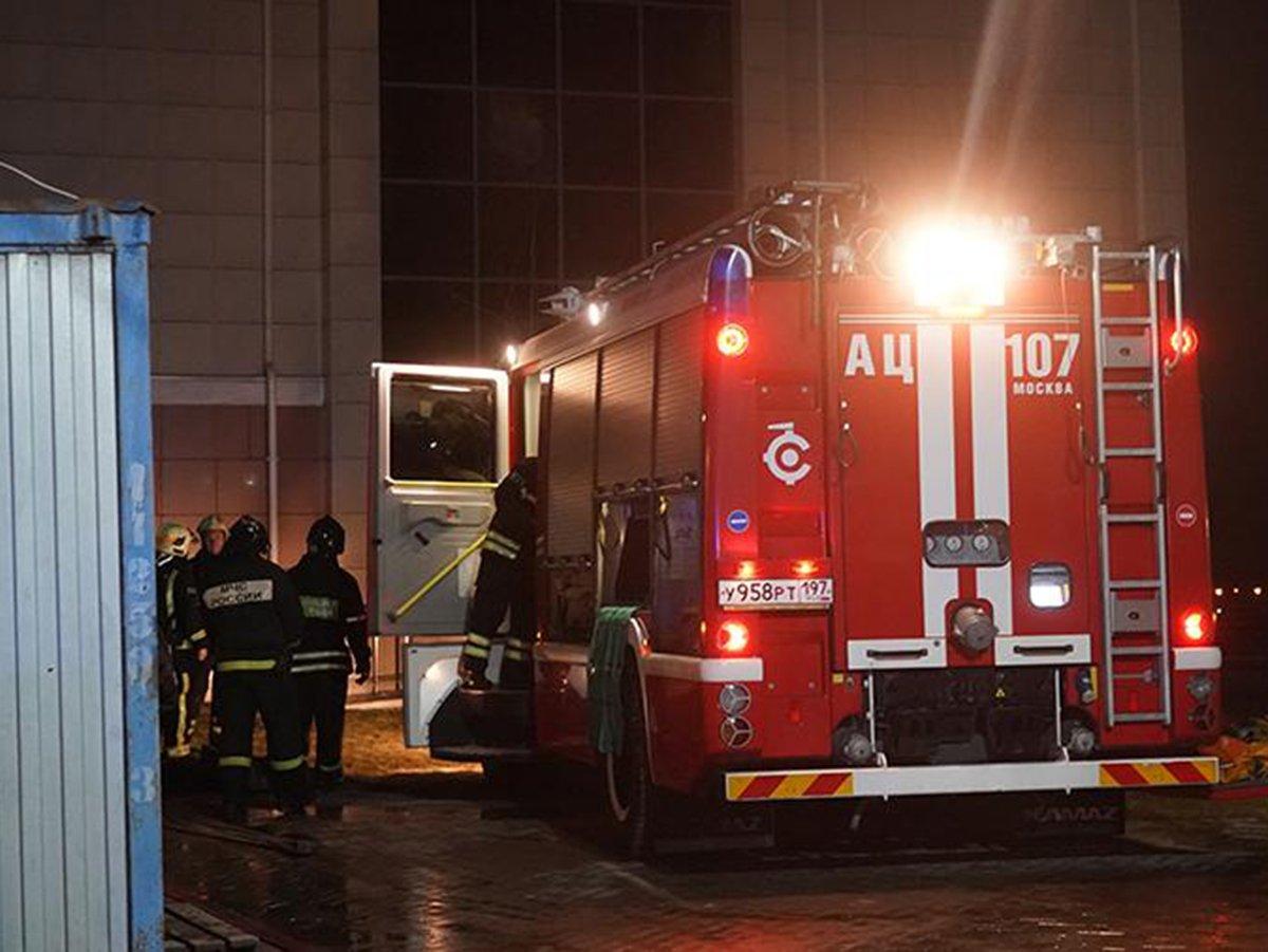 В Красногорске произошел пожар в хосписе