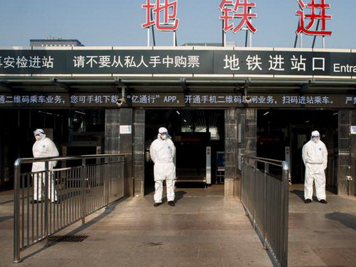 Китай-США-коронавирус