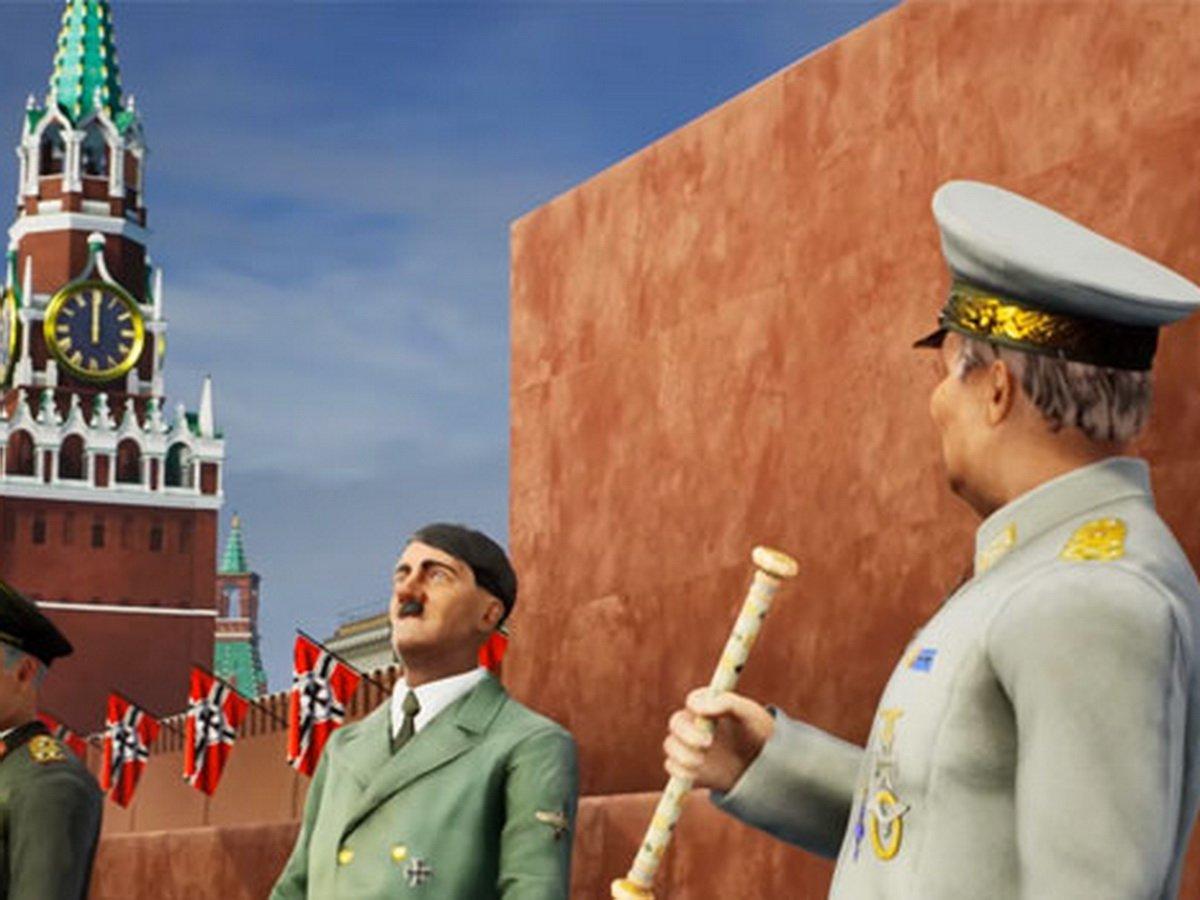 Игра с Гитлером вышла на Украине