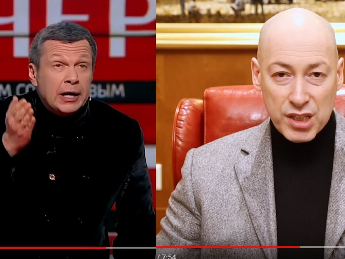 Конфликт Гордон - Соловьев переехал на Youtube
