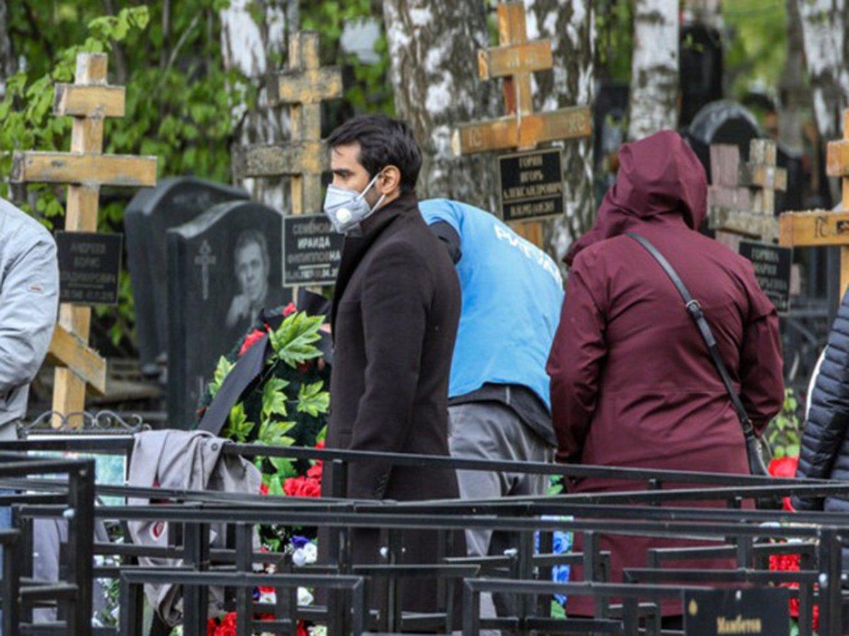Похороны во время пандемии коронавируса