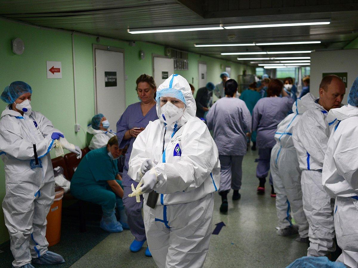 Коронавирус в России статистика за сутки