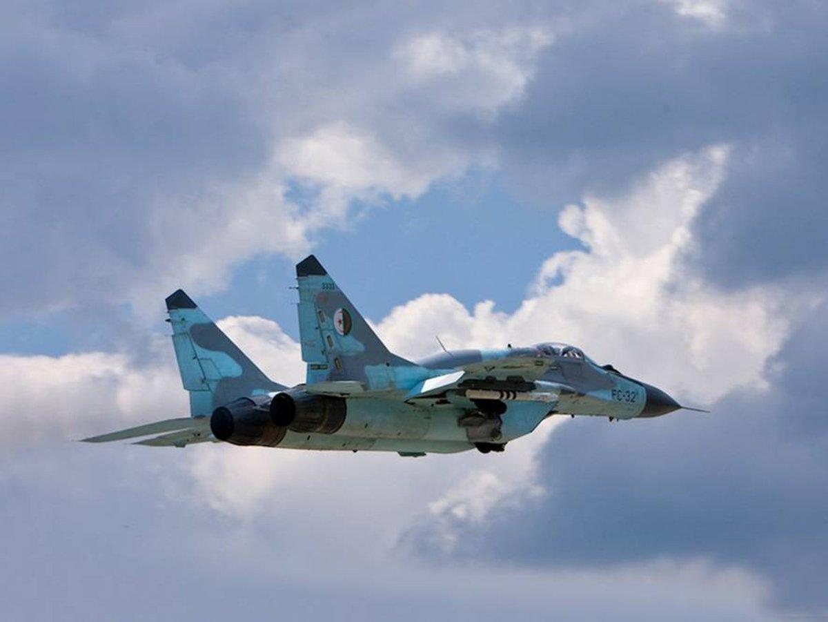 Экстремальное снижение МИГ-29
