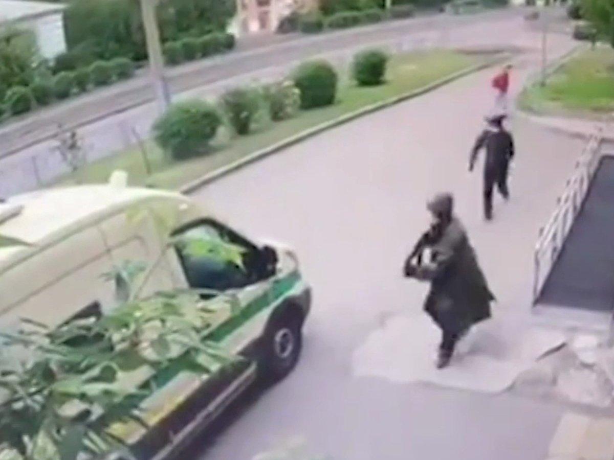 Нападение на инкассаторов в Красноярске