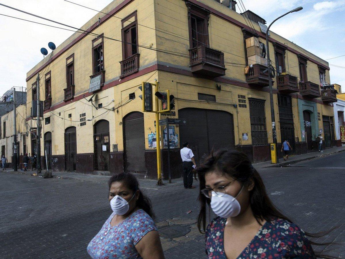 Эпидемия коронавируса в Перу