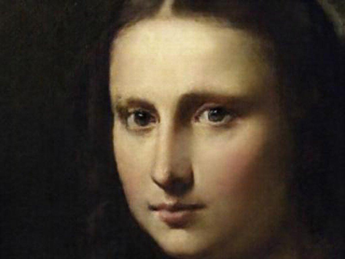 Мона Лиза в обработке приложения ИИ