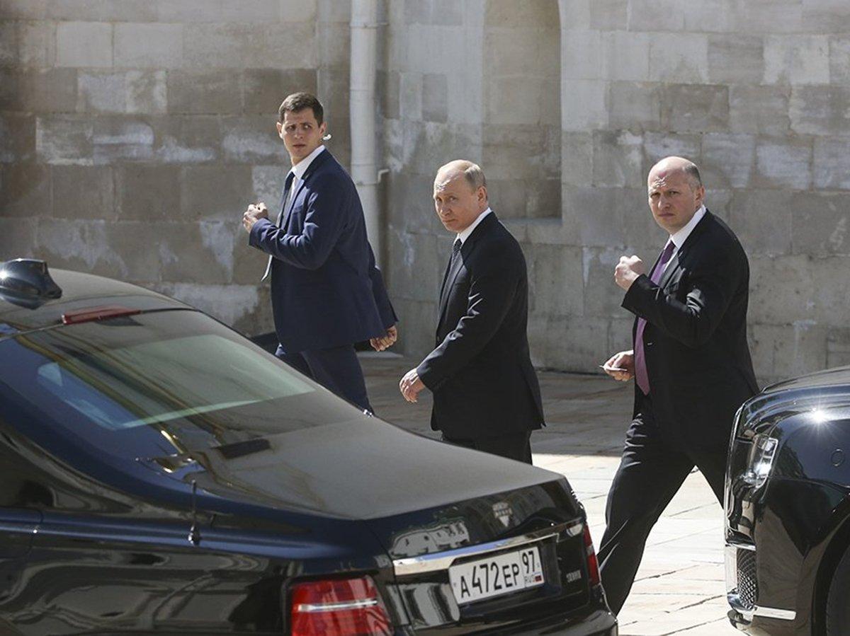 Путин вернулся в Кремль