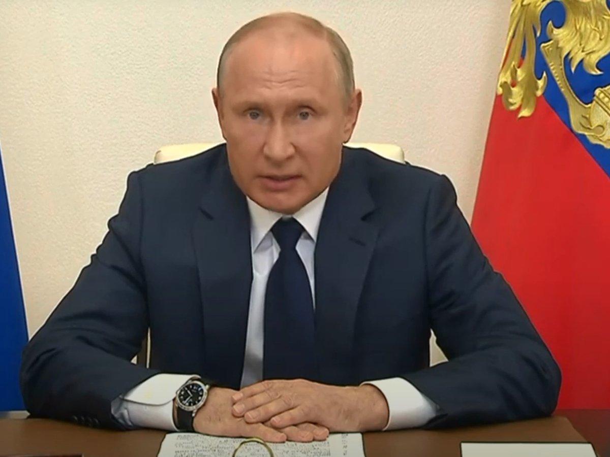 Обращение Путина 11 мая