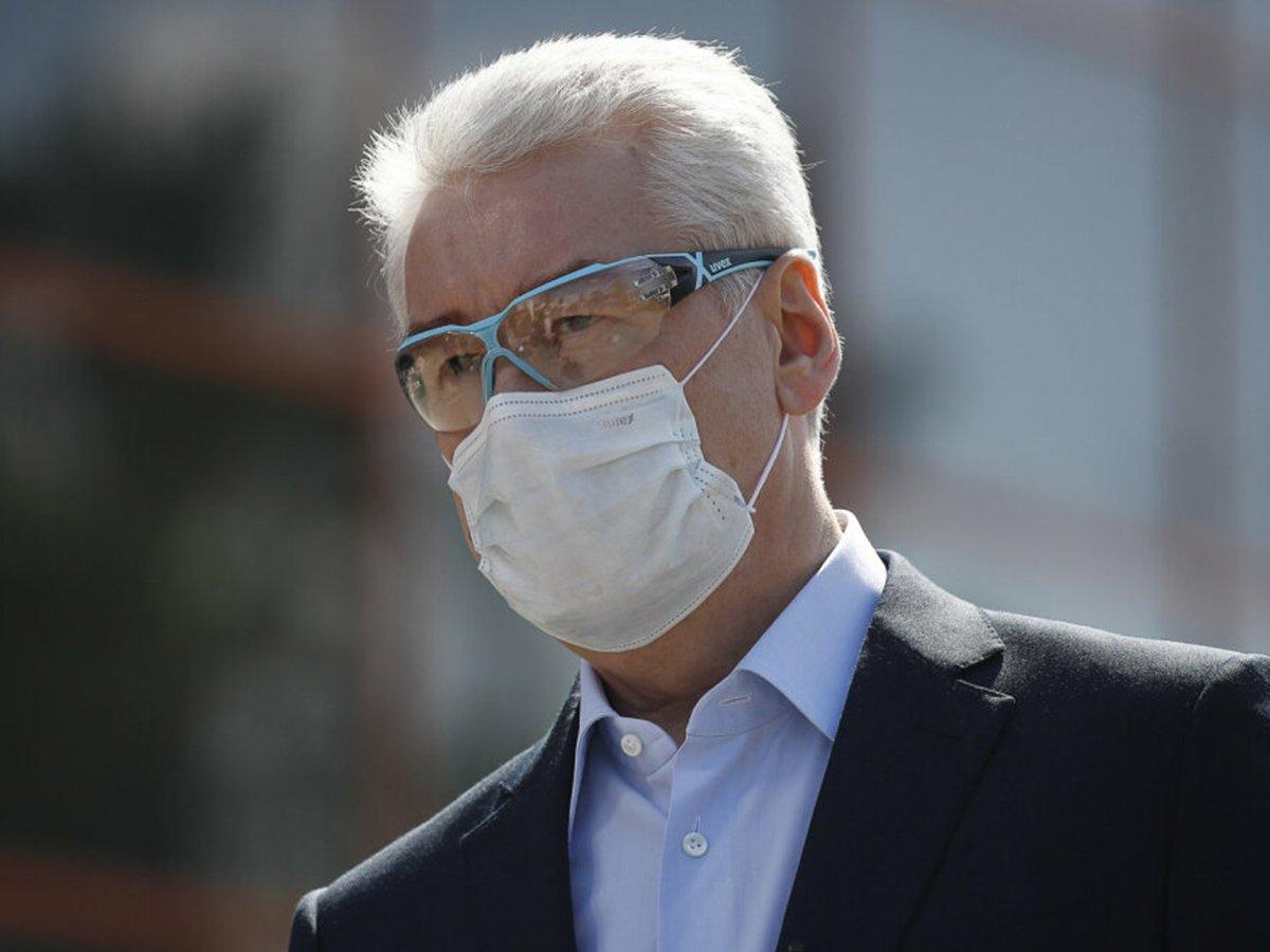 Собянин пообещал сохранить ограничения до появления вакцины