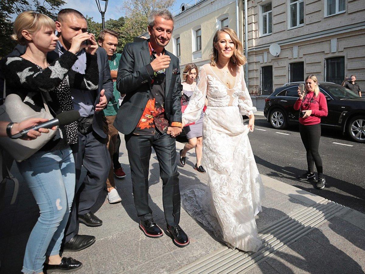 Свадьба Богомолова и Собчак