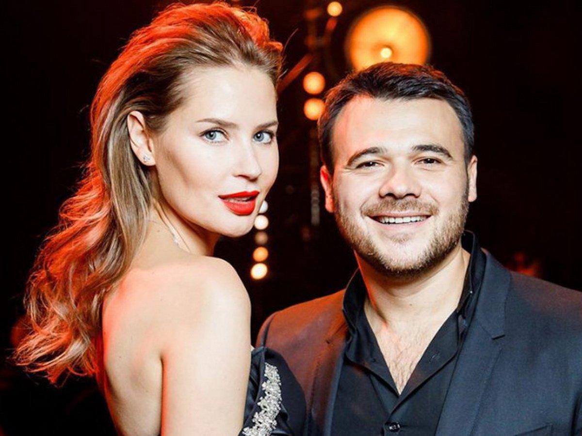 Эмин Агаларов с женой
