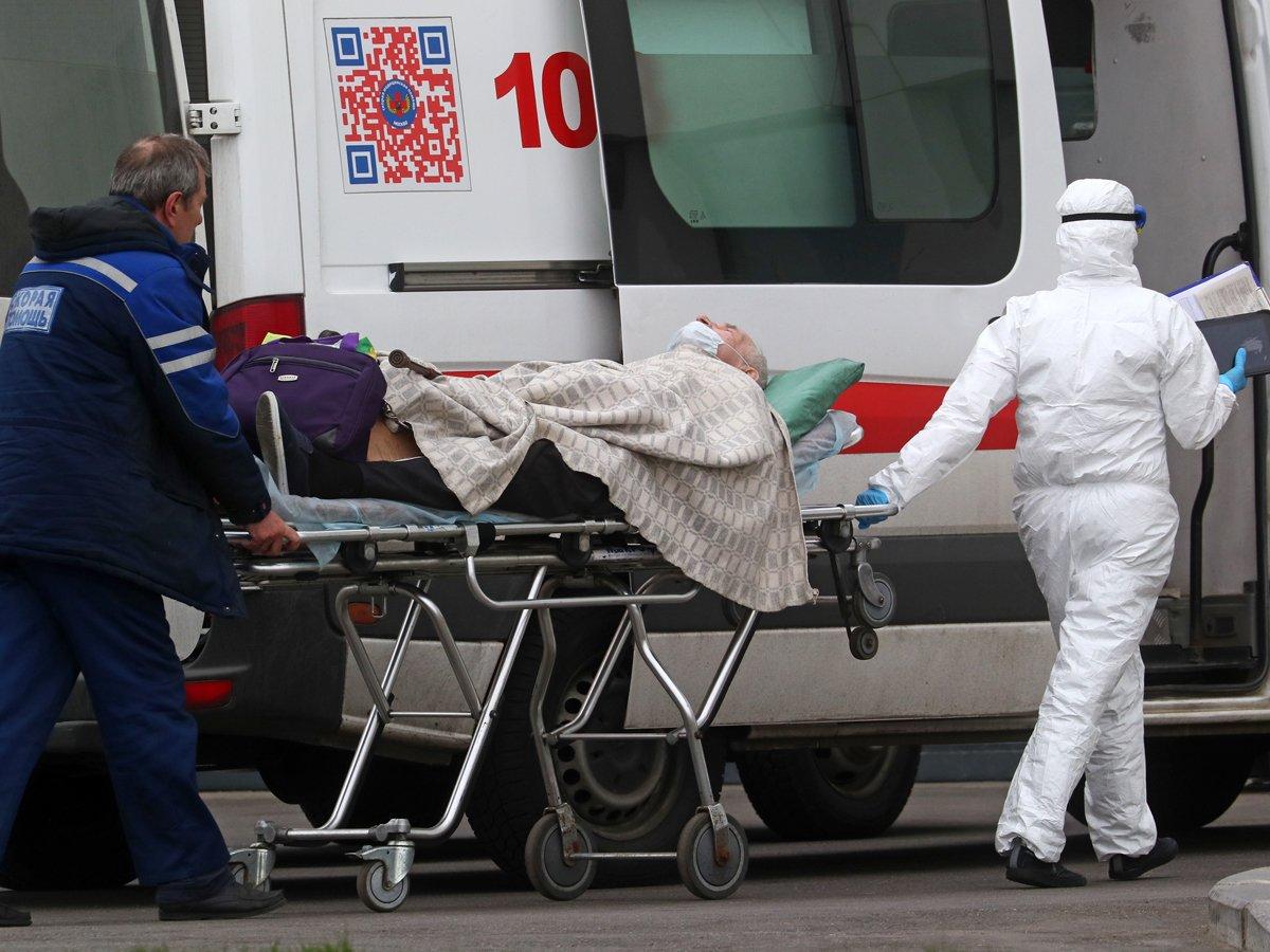 Россия обновила антирекорд по COVID-19: более 10 000 зараженных за сутки
