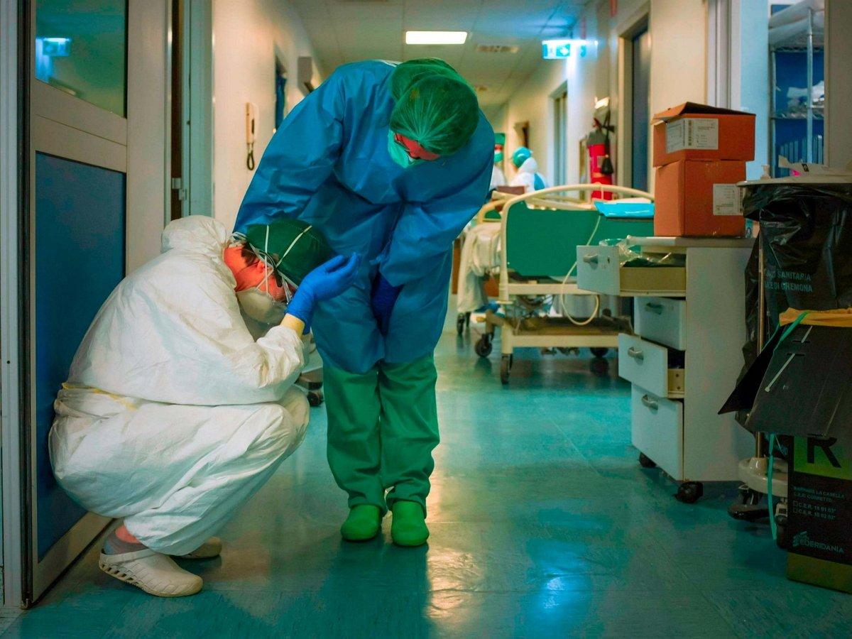 Названа причина высокой смертности врачей от COVID-19 в России