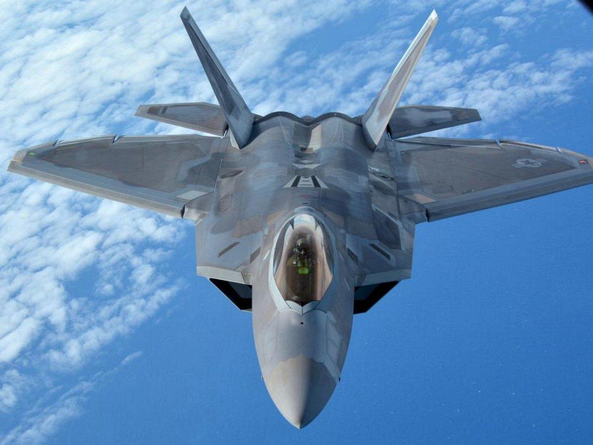 ВСША разбился истребитель F-22