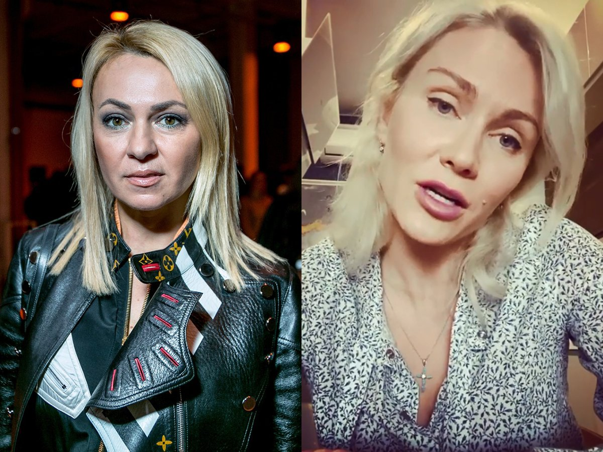 Яна Рудковская и Катя Гордон