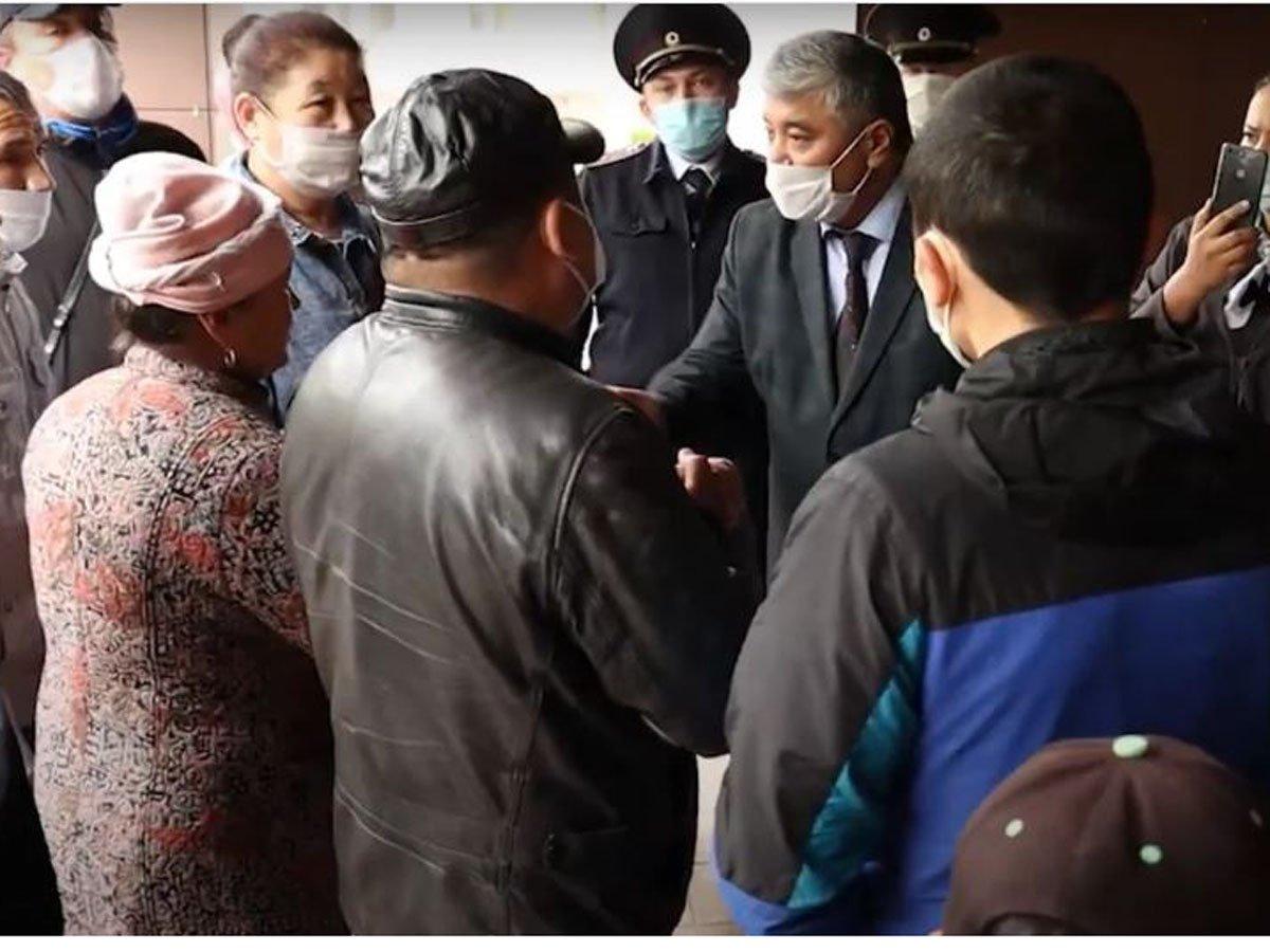 Мигранты из Киргизии