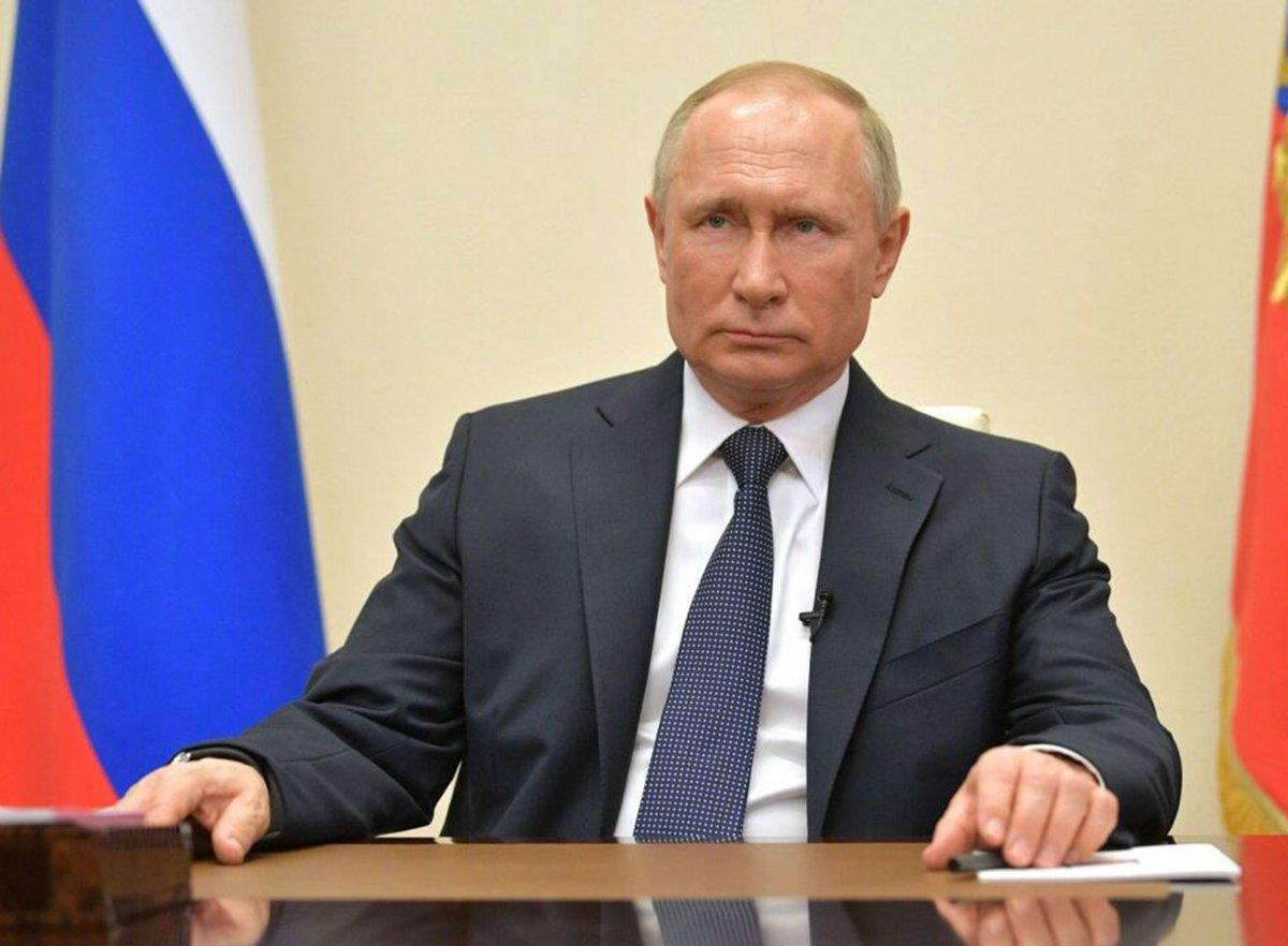 Путин обратился к народу Австрии