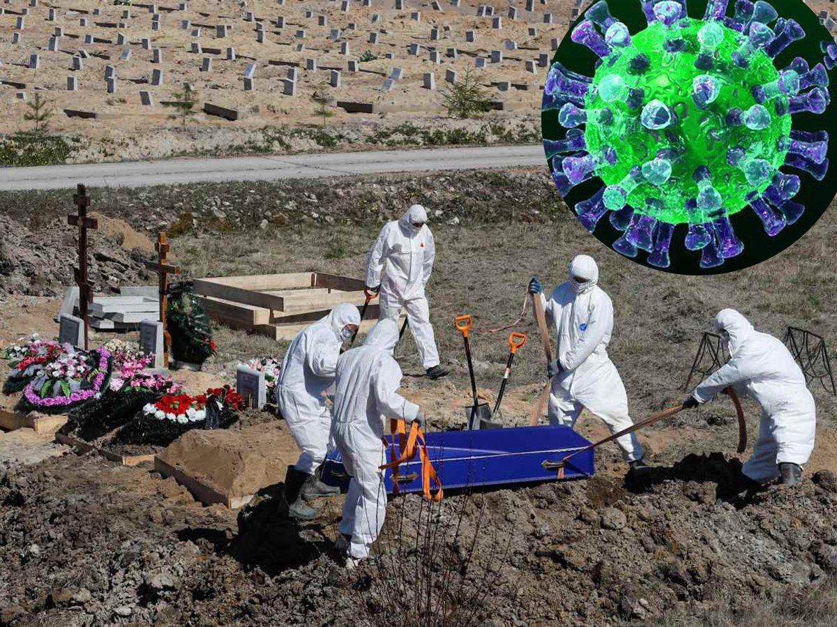 Похороны пациента с коронавирусом в Санкт-Петебурге