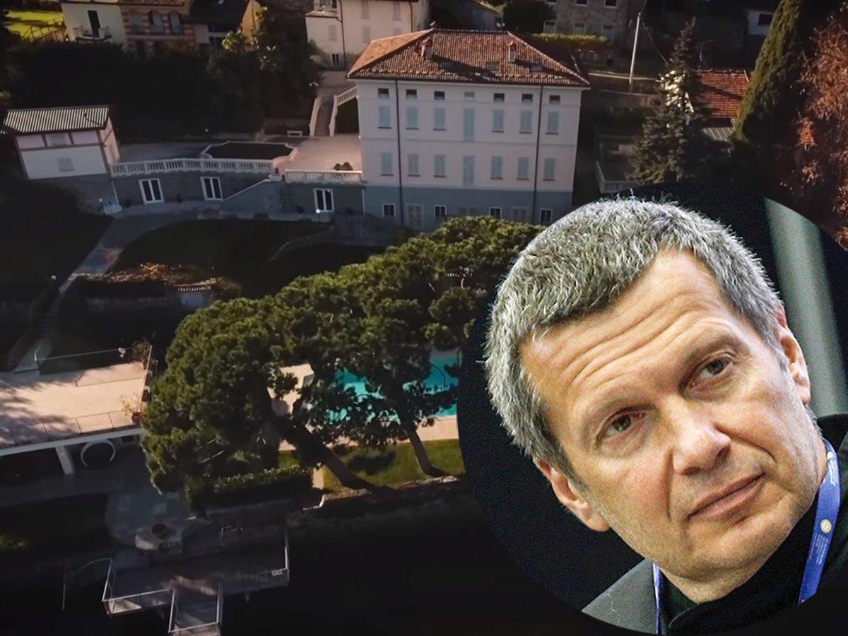 Запретить Соловьеву въезд в Италию