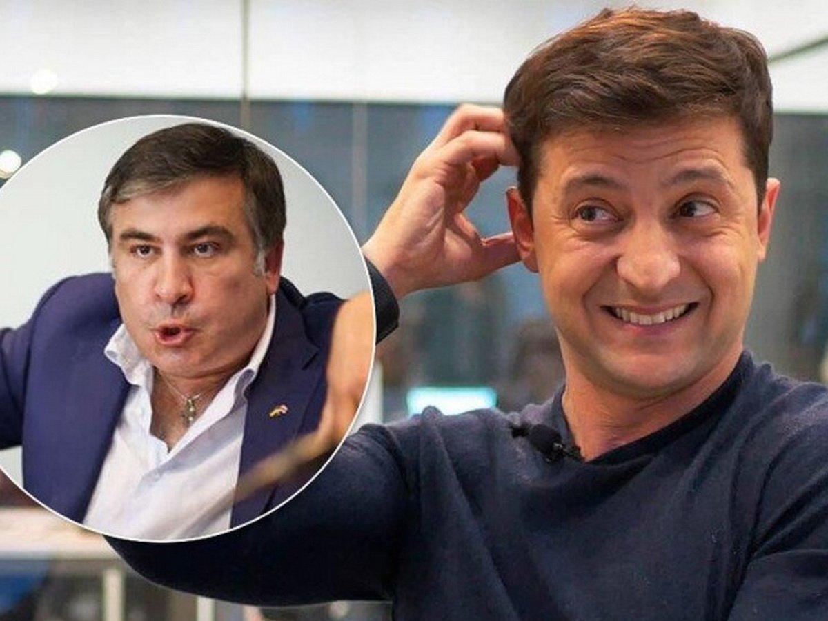 Зеленский назначил Саакашвили