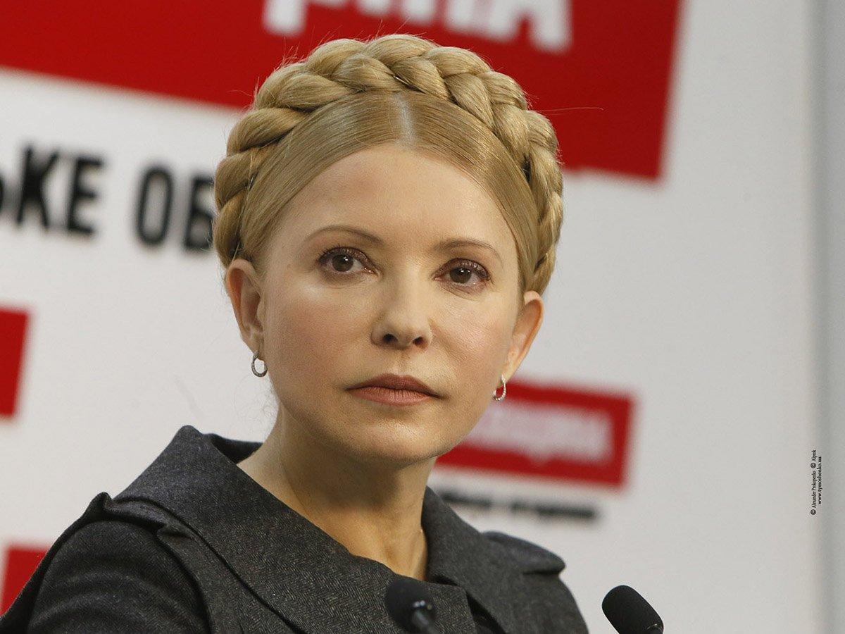 Тимошенко официально стала долларовым миллионером