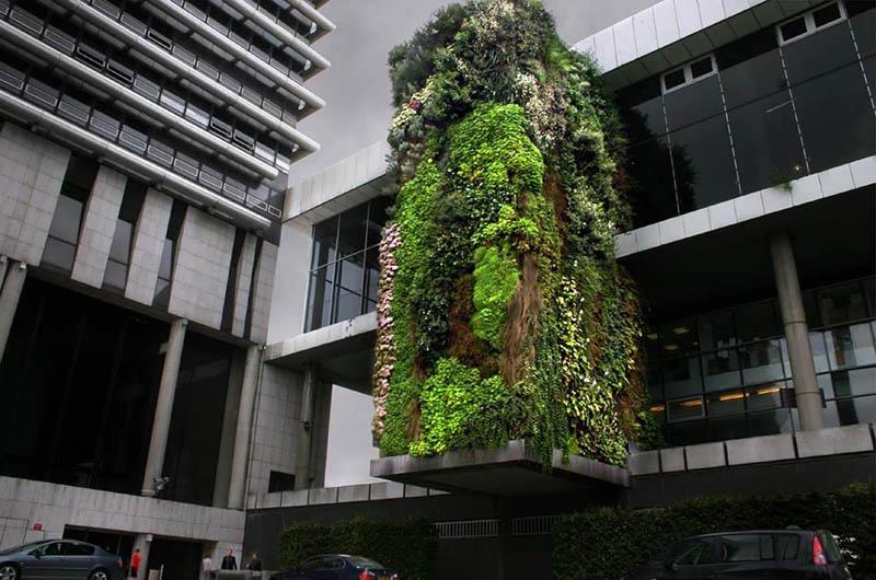 15 вертикальных садов по всему миру