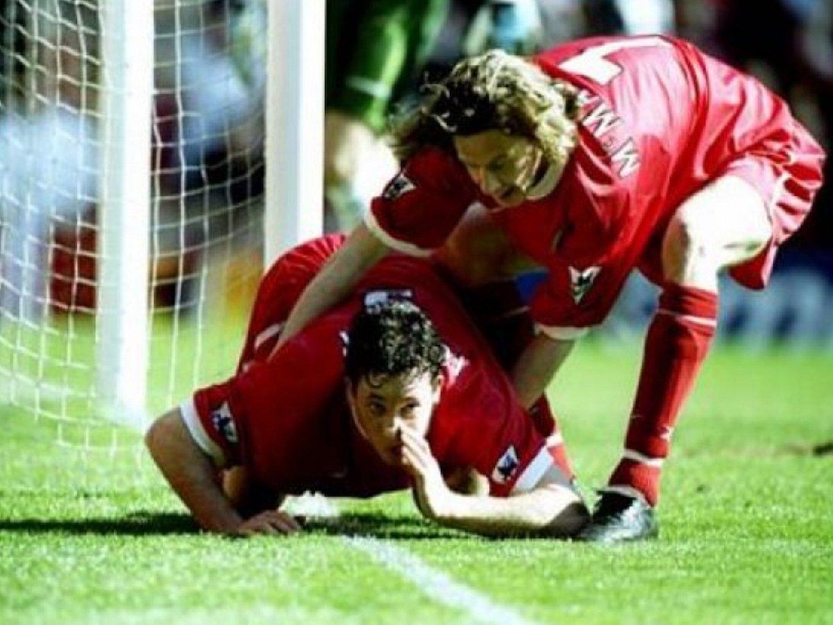 Футбольные конфузы: самые яркие празднования забитых голов