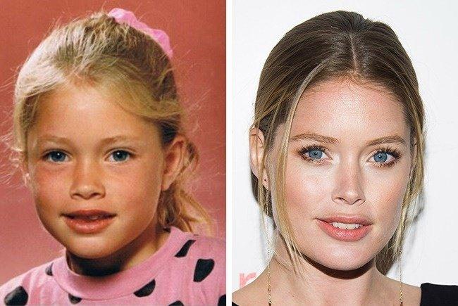 Тогда и сейчас: 12 знаменитых фотомоделей в детстве