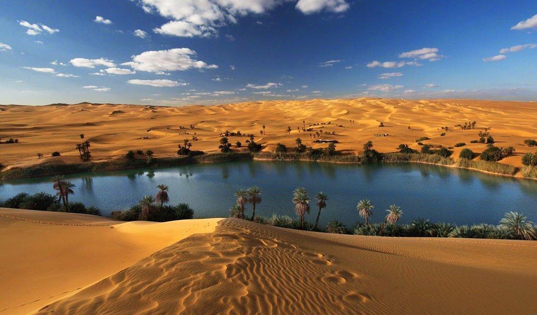 Как могла выглядеть Сахара 5000 лет назад
