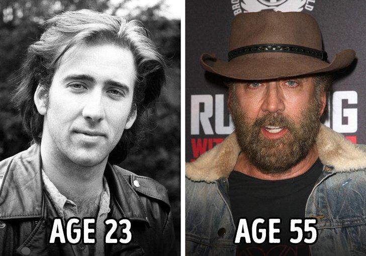 Знаменитости, которые сильно трансформировались за эти годы