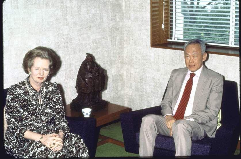 Отец-основатель Сингапура украл идею у Горбачева