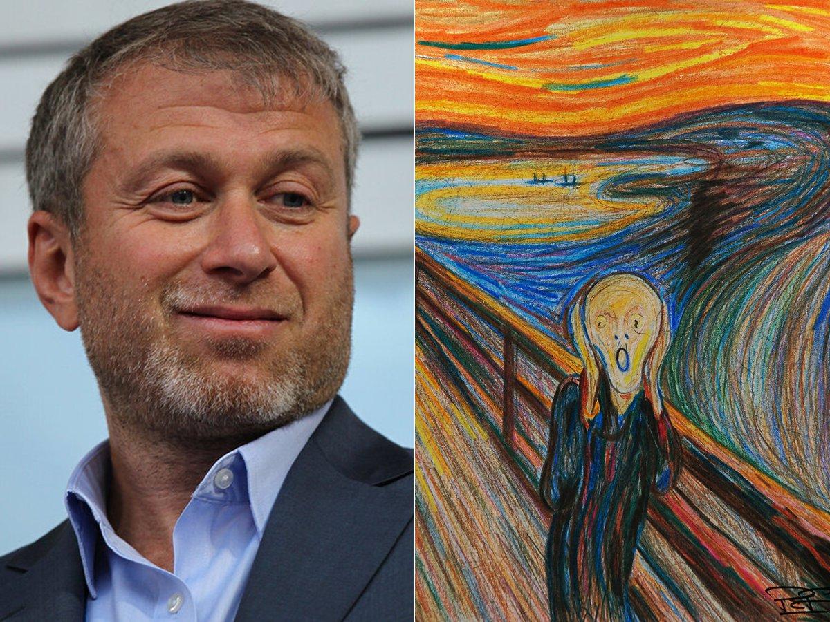 Абрамович купил картину Мунка Крик