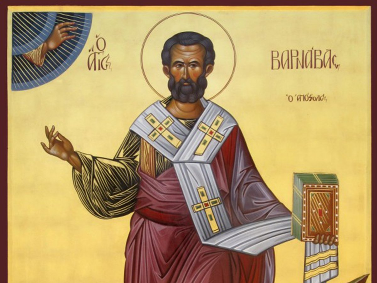 Апостол Варнава 24 июня