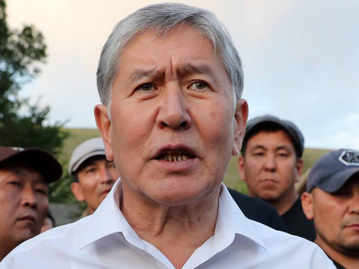Бывший президент Киргизии Атамбаев приговорен к 11 годам лишения свободы
