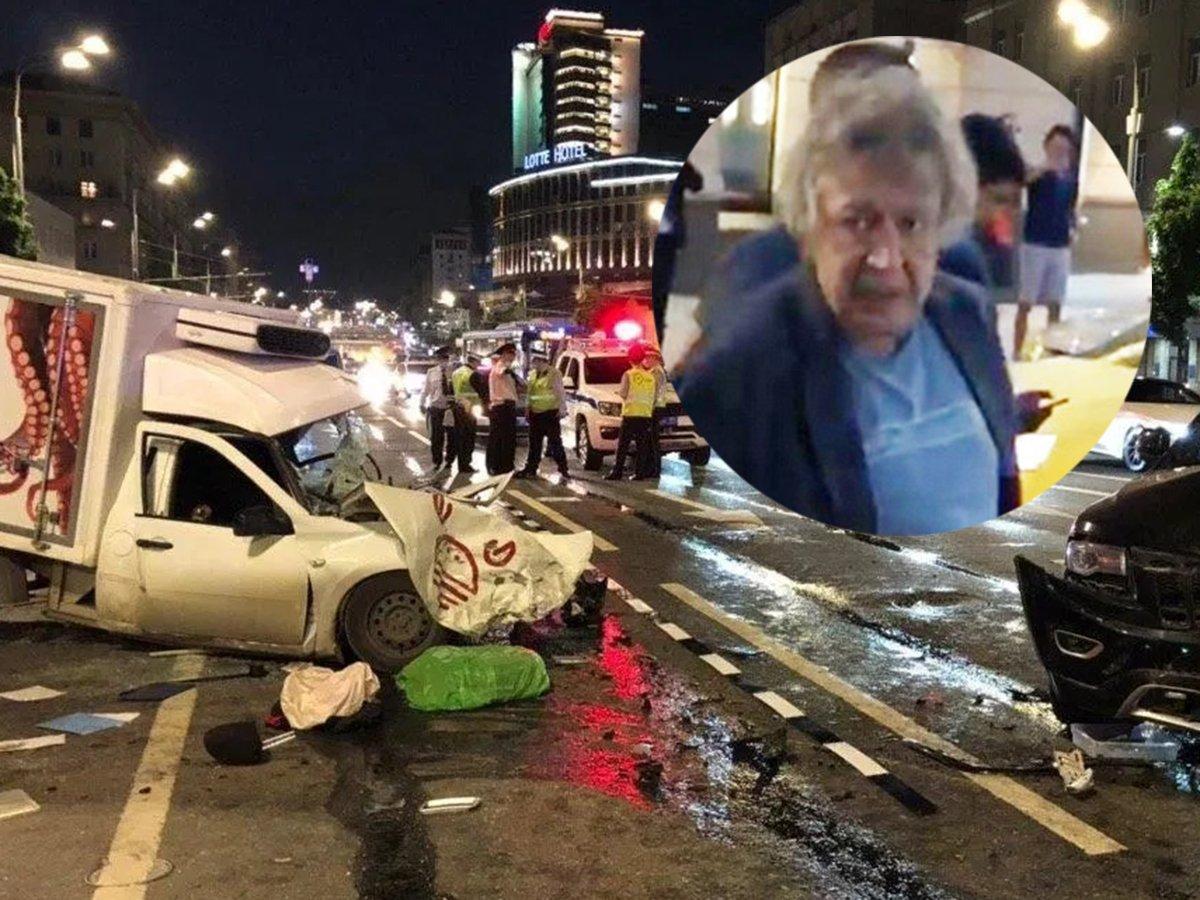СМИ узнали о пассажире Ефремова на момент аварии