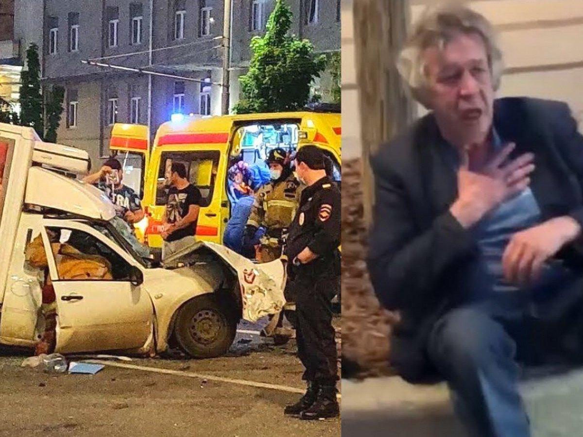 Авария с Ефремовым в Москве обрастает подробностями