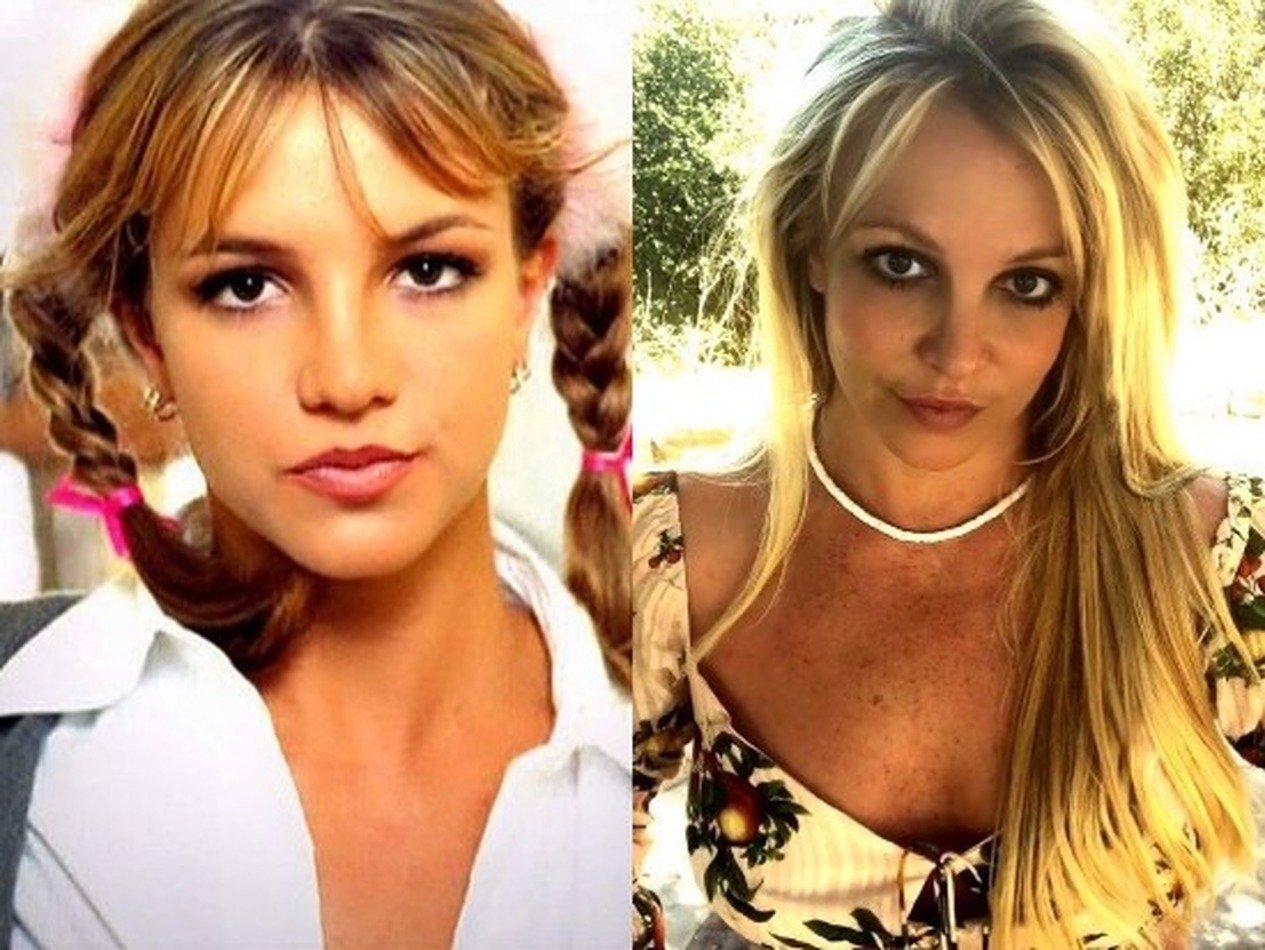 Бритни Спирс сменила имидж и помолодела на 15 лет