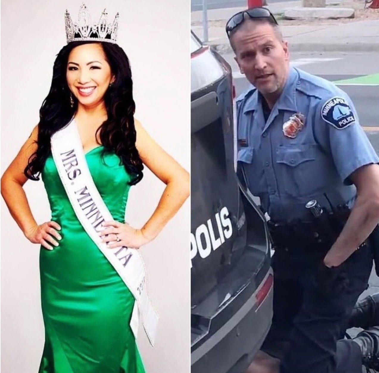 Полицейского Дереа Шовена бросила жена