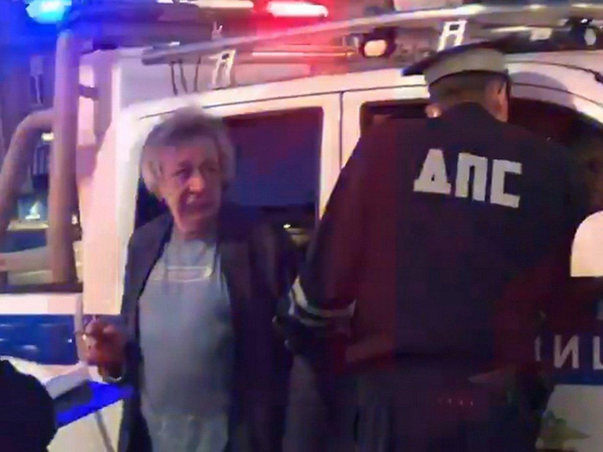 Пьяный Михаил Ефремов устроил аварию