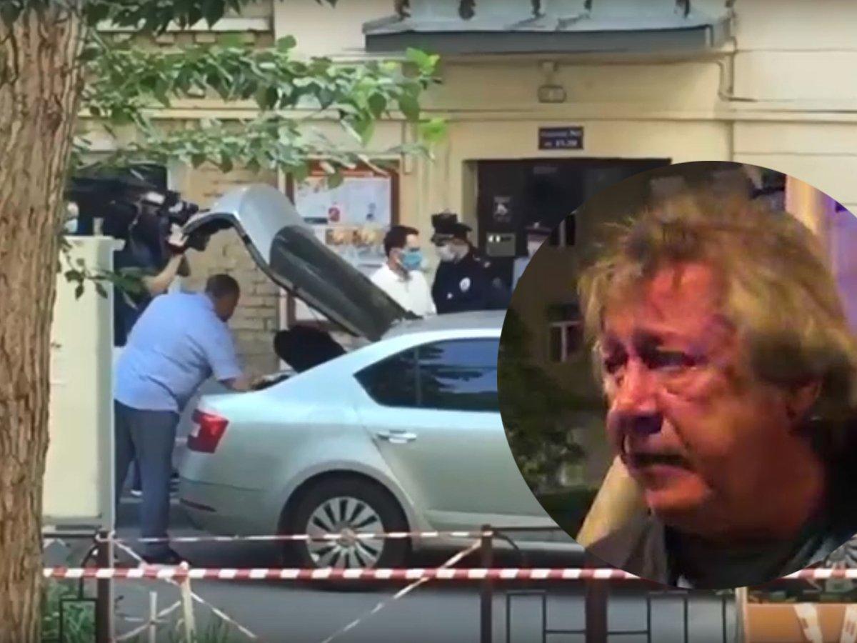 Ефремов задержан и едет на допрос
