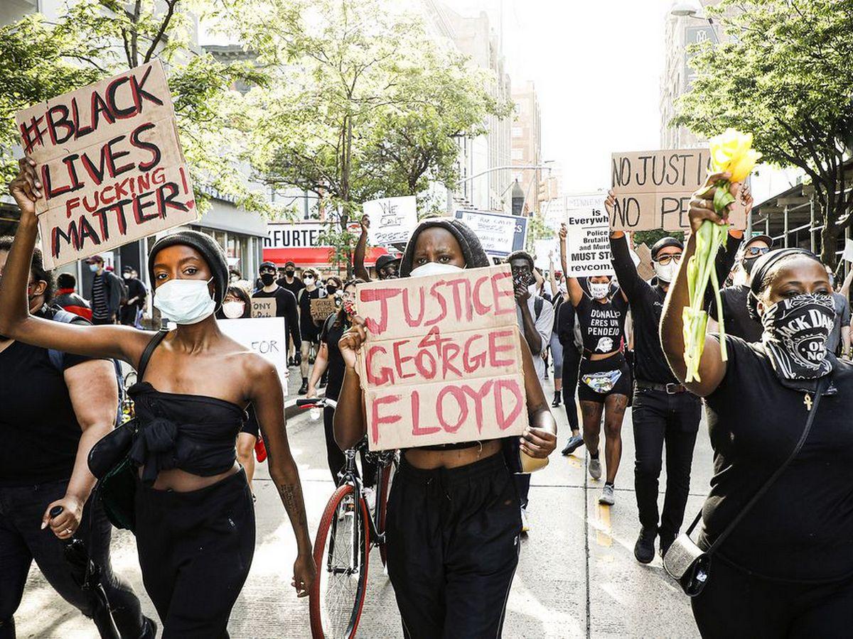 Продолжается волна протестов после гибели в Миннеаполисе Джорджа Флойда