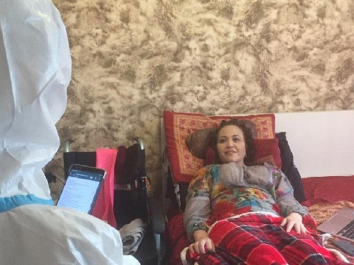 Прикованная к постели профессор РУДН Ирина Карабулатова