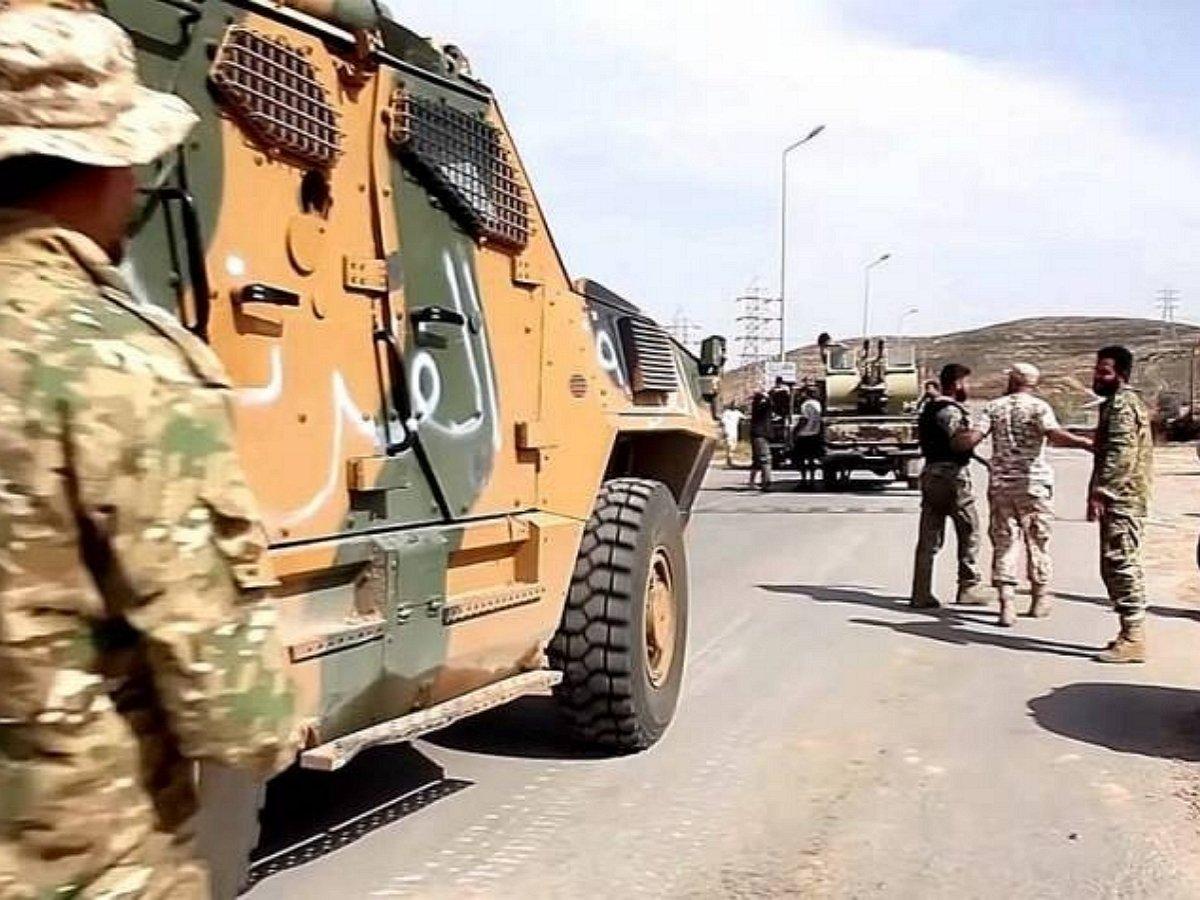 новая война в Ливии