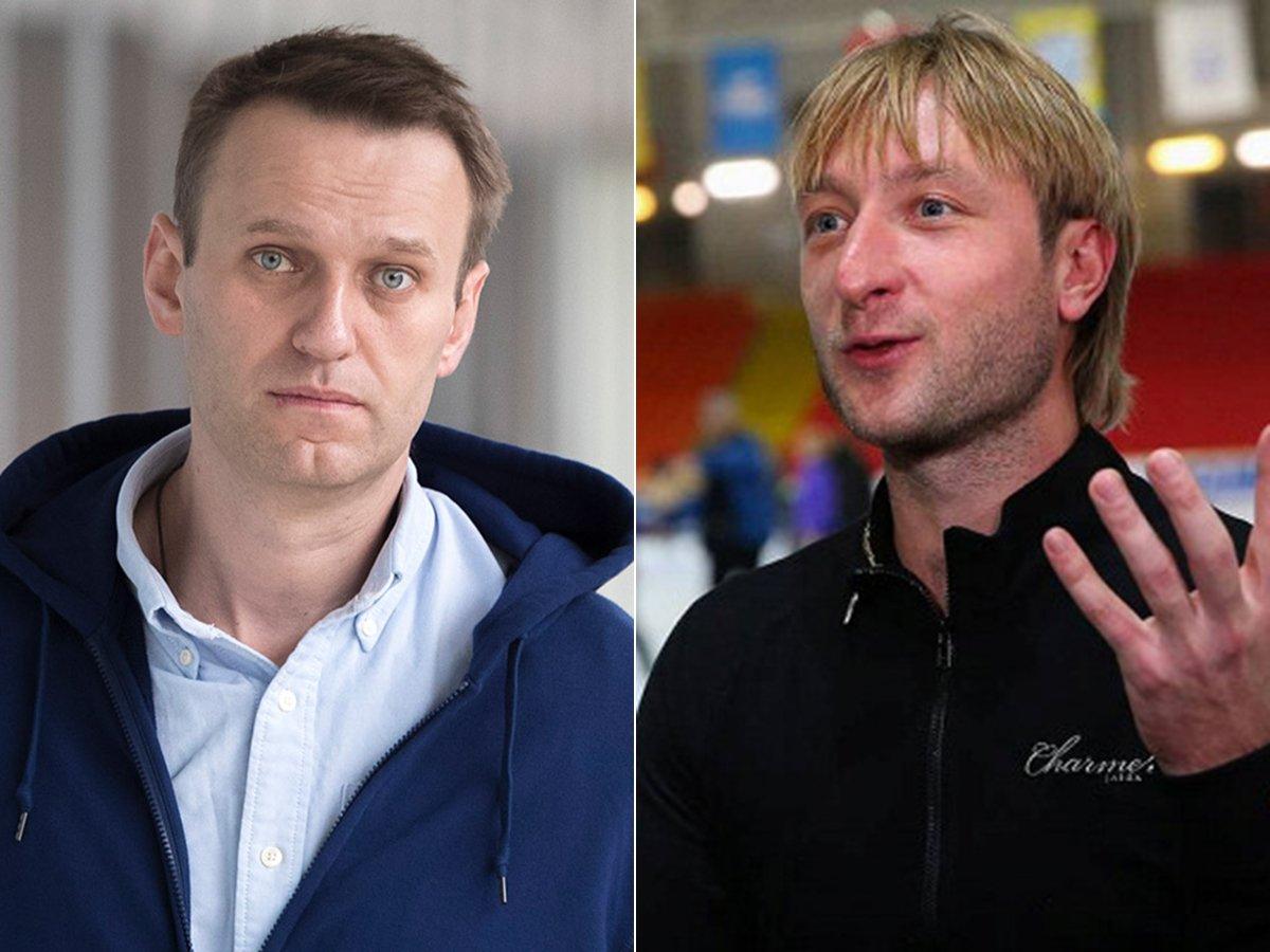 Навальный продолжил дискуссию с Плющенко