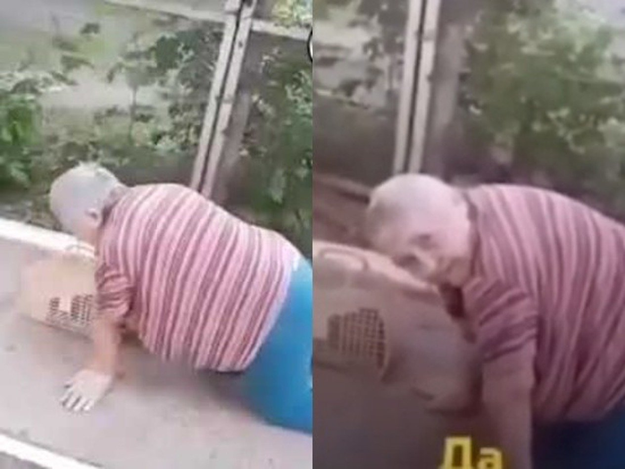 Под Пермью пенсионерка проползла до магазина на коленях